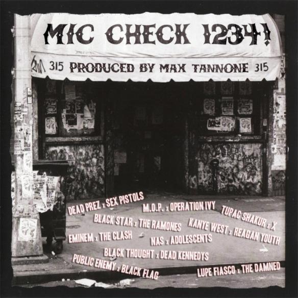 Max Tannone: Mic Check, a rap punk mashup