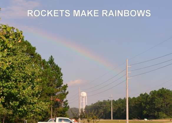 ROCKETS MAKE RAINBOWS